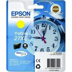Epson Ink No.27XL Yellow (C13T27144012) 1,1k DURABrite Ultra 27XL