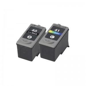 Tindikomplekt Canon PG-40 + CL-41 4-värvi, analoog