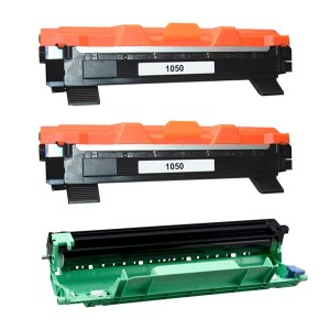 Tooner Brother TN-1050 x 2 + Trummel / TN1050, analoog