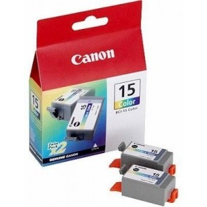 Canon Ink BCI-15 Color Twin Pack (8191A002)