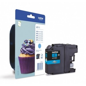 Brother Ink LC 123 Cyan (LC123C)