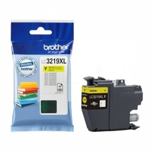Brother Ink LC 3219 Yellow (LC3219XLY)