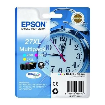 Epson Ink No.27 XL Multipack (C13T27154012)
