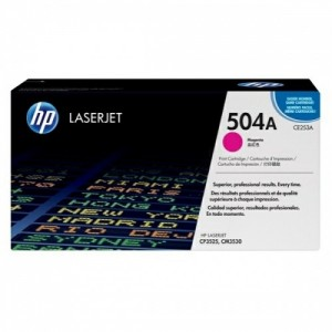 HP Cartridge No.504A Magenta (CE253A)