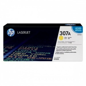 HP Cartridge No.307A Yellow (CE742A)