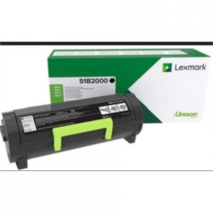 Lexmark Cartridge Black (51B2000) Return